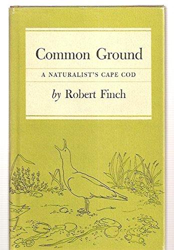 9780879233846: Common ground, a naturalist's Cape Cod