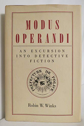 MODUS OPERANDI : AN EXCURSION INTO DETECTIVE FICTION [SIGNED]