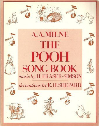 The Pooh Song Book (Godine Storyteller): Milne, A. A.