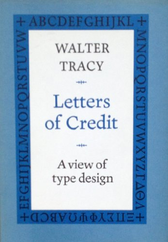 9780879236366: Letters of Credit: A View of Type Design