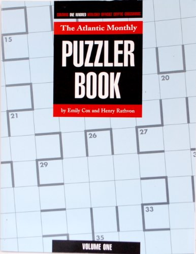9780879236403: The Atlantic Monthly Puzzler Book