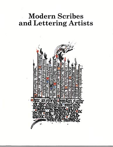 9780879238742: Modern Scribes and Lettering Artists