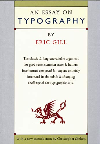 9780879239503: An Essay on Typography
