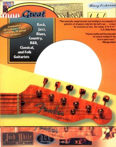 9780879303075: 1000 Great Guitarists