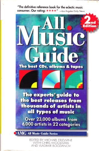 9780879303310: All Music Guide: The Best Cds, Albums & Tapes : The Experts' Guide to the Best Releases from Thousands of Artists in All Types of Music (All Music Guide: The Expert's Guide to the Best Recordings)
