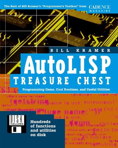 9780879305185: AutoLISP Treasure Chest: Programming Gems, Cool Routines, and Useful Utilities