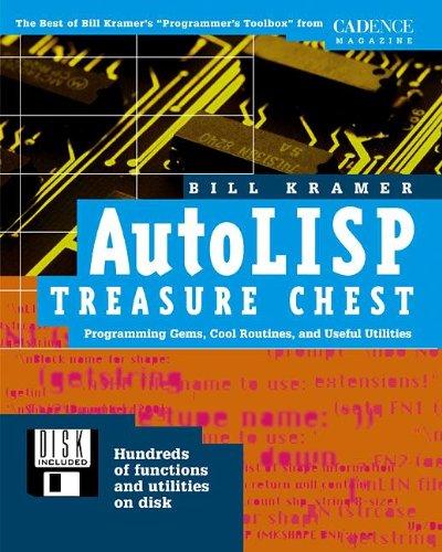 9780879305185: Autolisp Treasure Chest (Book and 3.5-inch diskette)