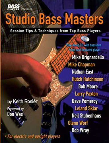 9780879305581: Studio Bass Masters: Session Tips and Techniques from Top Bass Players