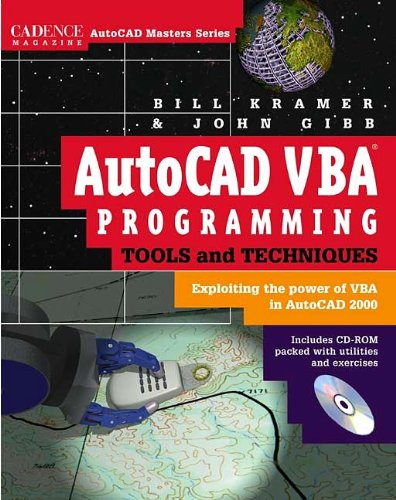 9780879305741: AutoCAD VBA Programming Tools and Techniques : Exploiting the Power of VBA in AutoCAD 2000