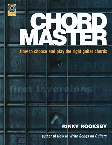 9780879307660: The Chord Master- How to Find and Choose the Right Guitar Chords Book/CD (Softcover)