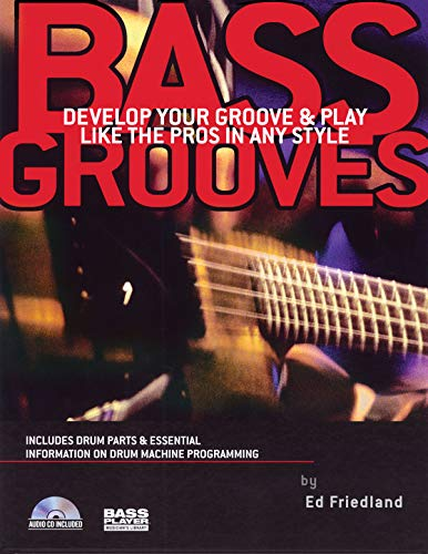 9780879307776: Bass grooves basse+CD