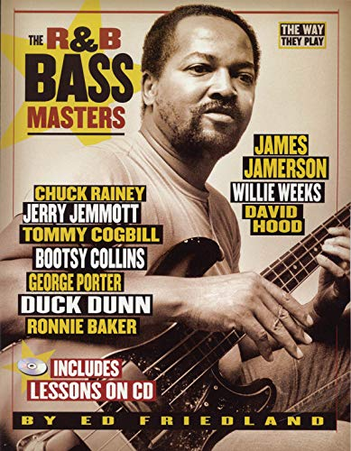 9780879308698: The way they play - r&b bass masters guitare basse+CD