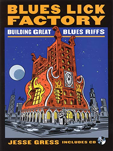 9780879309138: Blues Lick Factory: Building Great Blues Riffs - Disk Contains MP3 Files