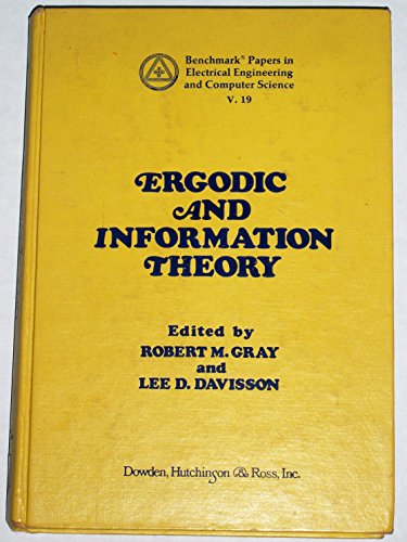 9780879333003: Ergodic and information theory (Benchmark papers in electrical engineering and computer science ; 19)