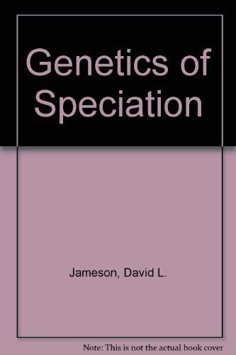 9780879333027: Genetics of Speciation