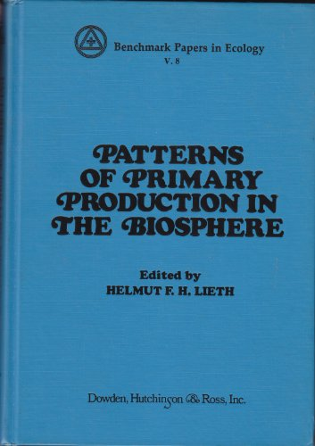 Patterns of Primary Production in the Biosphere: Helmut Lieth