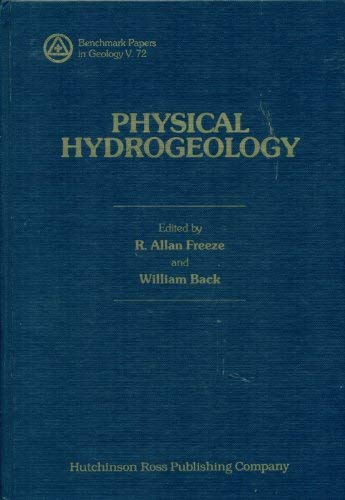 9780879334314: Physical Hydrogeology (Benchmark papers in geology)