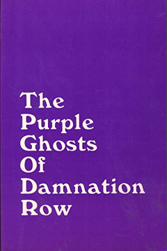The purple ghosts of Damnation Row (0879340304) by Wass, Albert