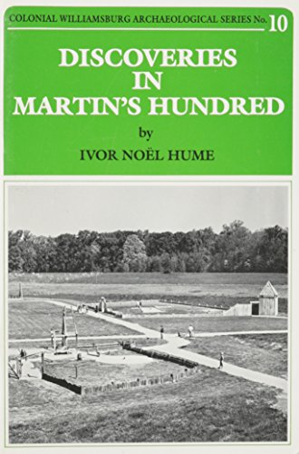 9780879350697: Discoveries in Martin's Hundred (Colonial Williamsburg archaeological series)