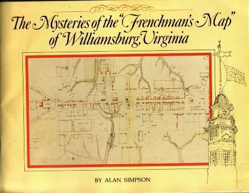9780879351045: Mysteries of the Frenchman's Map of Williamsburg, Virginia