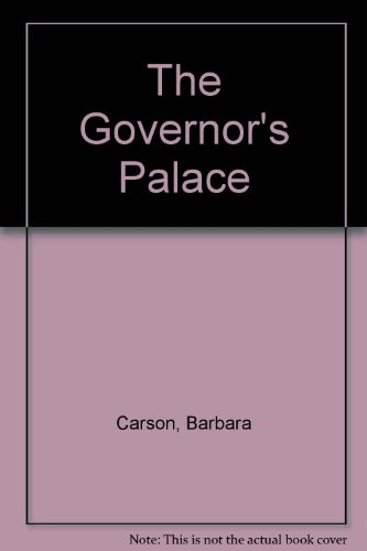 9780879351205: The Governor's Palace