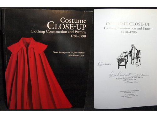 9780879351885: Costume Close-Up: Clothing Construction and Pattern, 1750-1790