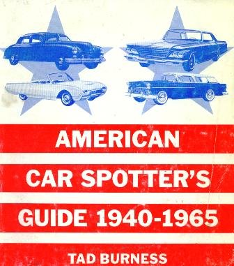 9780879380052: American car spotter's guide, 1940-1965