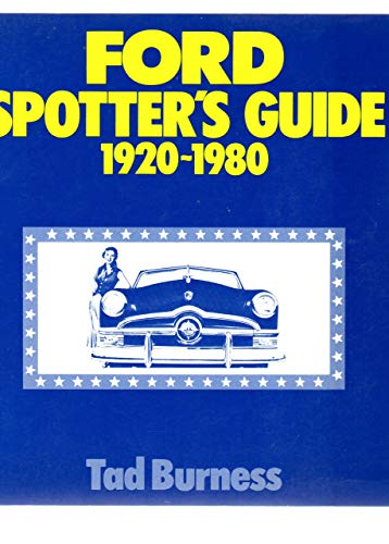 9780879381509: Ford spotter's guide, 1920-1980
