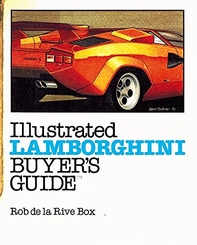 9780879381738: Illustrated Lamborghini Buyer's Guide