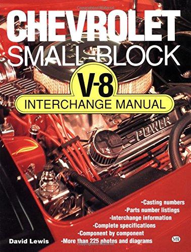 Chevrolet Small Block V-8 Interchange Manual (Motorbooks Workshop): David Lewis