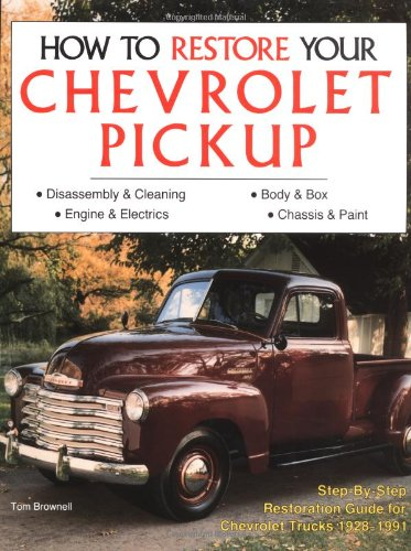 9780879385002: How to Restore Chevrolet Pickups