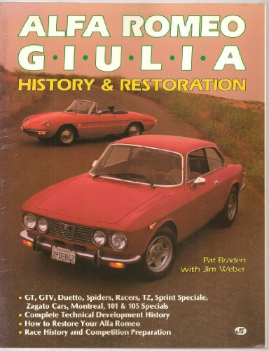 9780879385293: Alfa Romeo Giulia History and Renovation Guide
