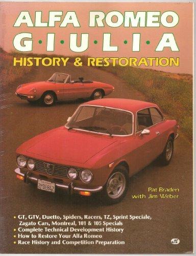 9780879385293: Alfa Romeo Giulia: History and Restoration