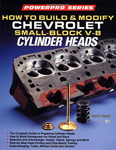 9780879385477: How to Build and Modify Chevrolet Small-Block V-8 Cylinder Heads (Motorbooks Workshop)