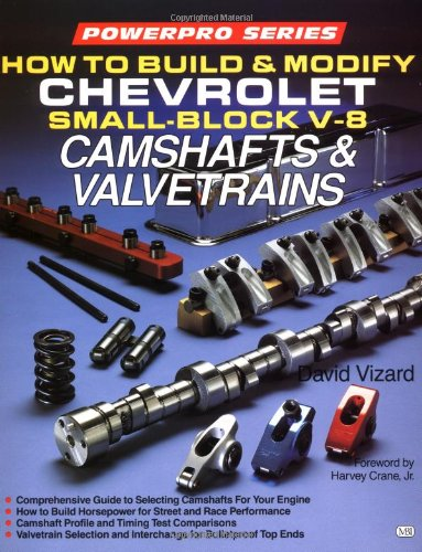 How to Build and Modify Chevrolet Small-Block V-8 Camshafts and Valves (Motorbooks Workshop) (0879385952) by David Vizard