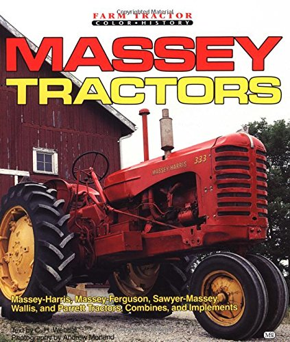 9780879386184: Massey Tractors (Motorbooks International Farm Tractor Color History)