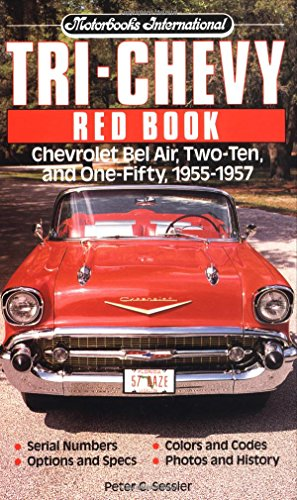 9780879386252: Tri-Chevy Red Book (Red Book Series)