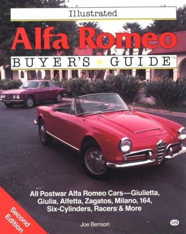 9780879386337: Illustrated Alfa Romeo Buyer's Guide
