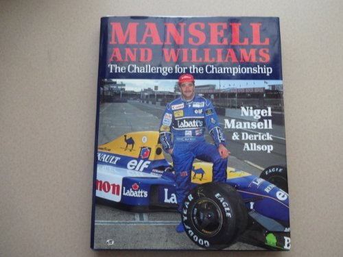 9780879386733: Mansell and Williams: The Challenge for the Championship