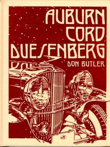 Auburn, Cord, Duesenberg: Don Butler