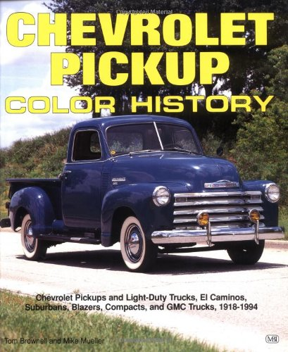9780879388768: Chevrolet Pickup Color History (Truck Color History)