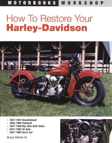 9780879389345: How to Restore Your Harley-Davidson