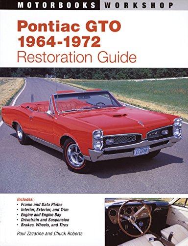 9780879389536: Pontiac GTO Restoration Guide, 1964-1972 (Motorbooks Workshop)