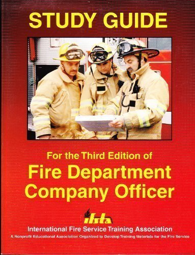 9780879391683: Fire Department Company Officer: Study Guide