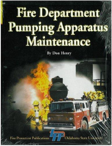 9780879392192: Fire Department Pumping Apparatus Maintenance