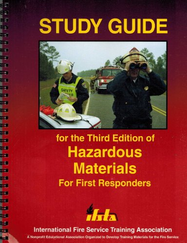 9780879392482: Study Guide for Third Edition of Hazardous Materials for First Responders