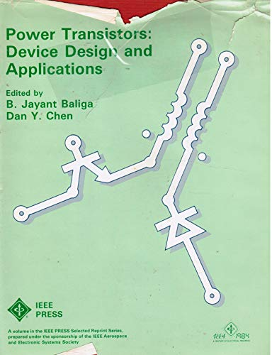9780879421816: Power Transistors: Device Design and Applications (Ieee preselected Reprint Series)