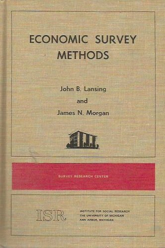 Economic Survey Methods: Lansing, John B.