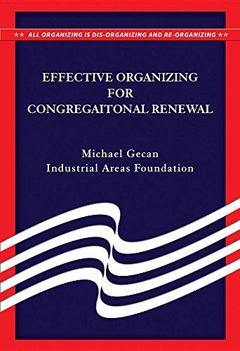 9780879463847: Effective Organizing for Congregational Renewal