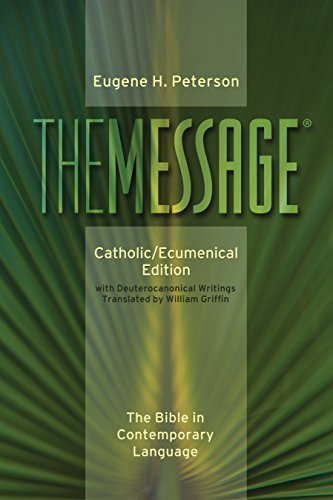 9780879464943: The Message: Catholic/Ecumenical Edition, the Bible in Contemporary Language
